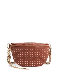 Steve Madden Studded Faux Leather Belt Bag