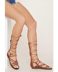 Forever 21 Mia Heritage Gladiator Sandals