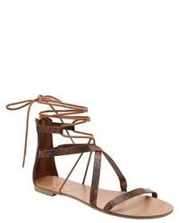 Revel Revel Ghillie Gladiator Sandals
