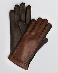 Burberry London Two Tone Leather Gloves