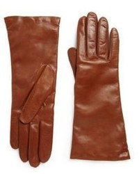Saks fifth avenue collection leather gloves medium 347669