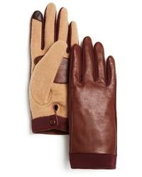 Echo Superfit Sheepskin Leather Tech Gloves