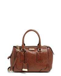 Burberry Gladstone Small Leather Satchel