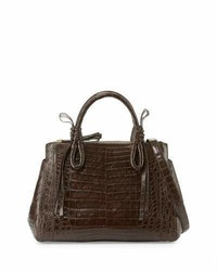Crocodile medium knotted top handle bag medium 1315793