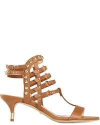 Jerome Rousseau Strappy Kitten Heel Sandals