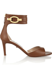 Diane von Furstenberg Kara Leather Sandals