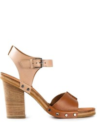 Marc by Marc Jacobs Chunky Heel Sandals