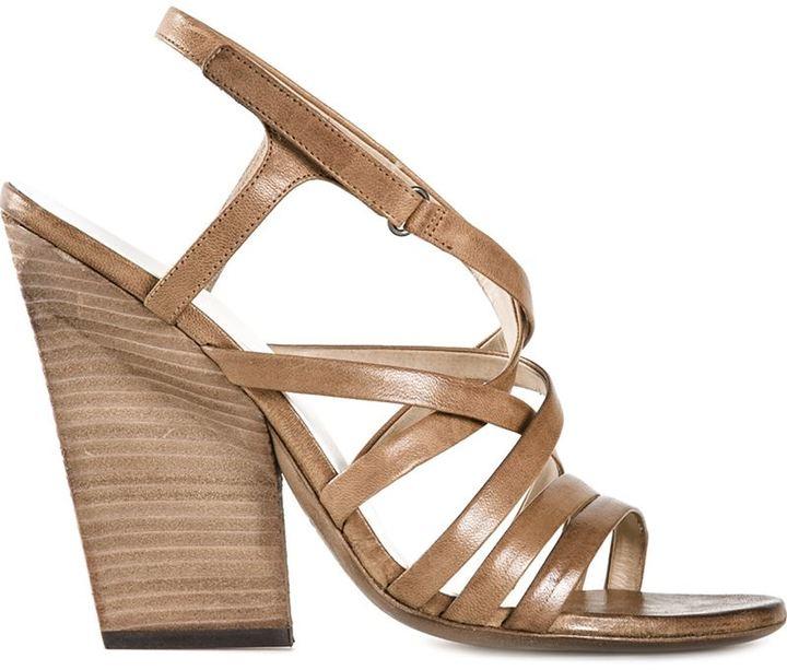 Marsèll Strappy Chunky Heel Sandals