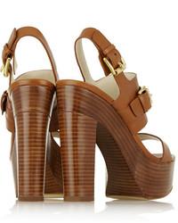 387a02555a4e63 ... MICHAEL Michael Kors Michl Michl Kors Beatrice Leather Platform Sandals  Michl Michl Kors ...