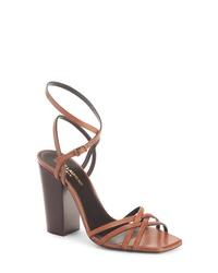 Saint Laurent Oak Crisscross Sandal