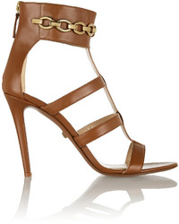 Diane von Furstenberg Uma Leather Sandals