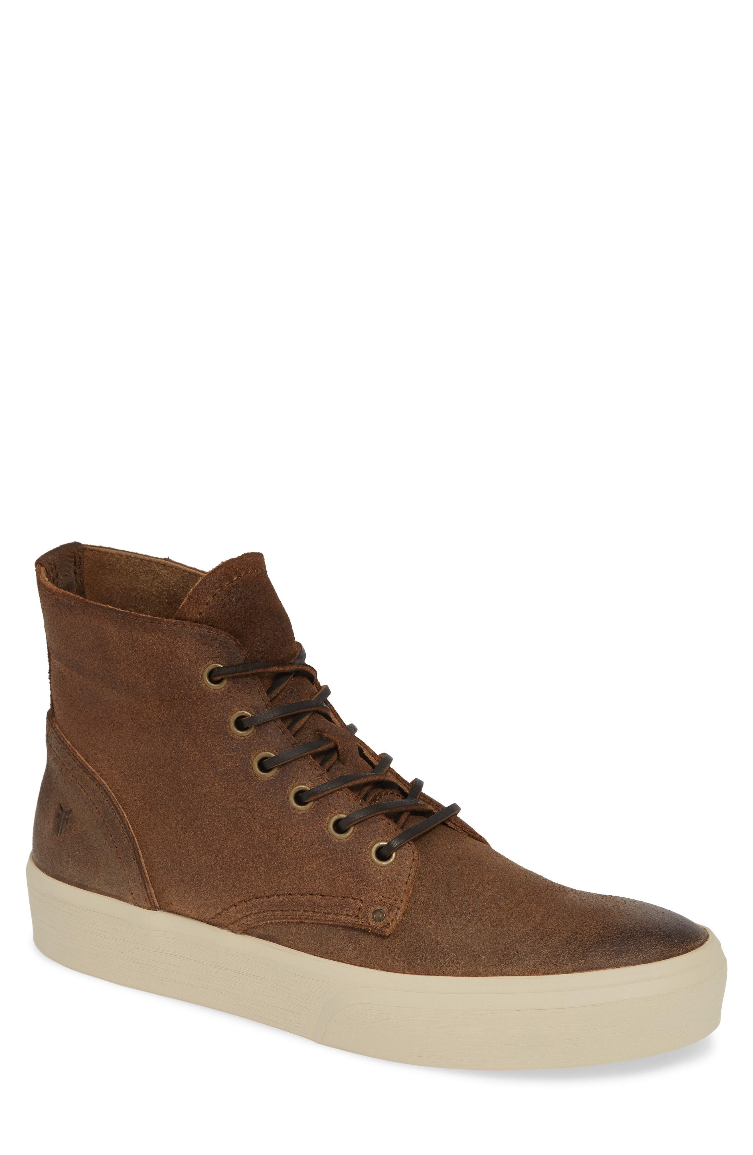 a9a5984aef3 Frye Beacon High Top Platform Sneaker, $258 | Nordstrom | Lookastic.com