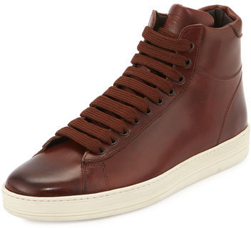 Tom Ford Russel Leather High Top
