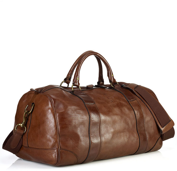 3db11ef4737a authentic ralph lauren offers custom duffel bag 397d3 2bad8  italy polo  ralph lauren bag core leather gym bag 5d5f1 91293