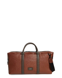 Ted Baker London Geome Faux Leather Duffle Bag