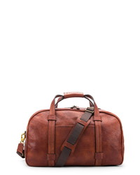 Bosca Leather Duffle Bag