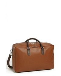 Marc by Marc Jacobs Leather Weekender Bag Redwood One Size
