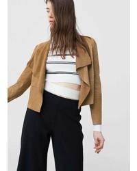 Lapels leather jacket medium 5025612
