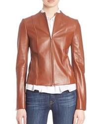 Theory Ozzane Wilmore Leather Jacket