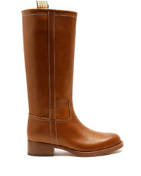 Etro Leather Knee High Boots