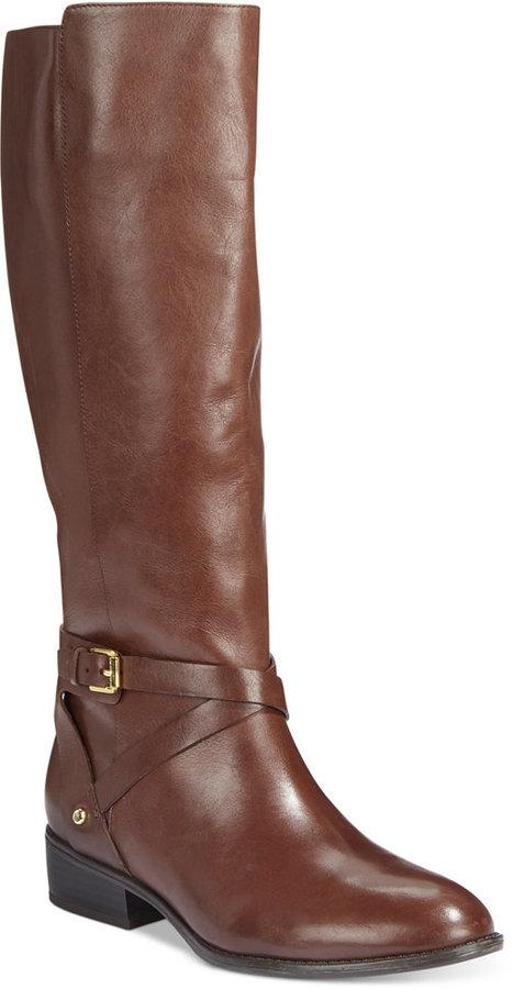 a3704020f15 ... Lauren Ralph Lauren Mariah Wide Calf Riding Boots ...