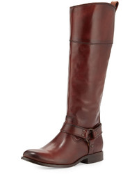 Melissa harness riding boot brown medium 344802