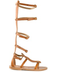 K. Jacques Strappy Gladiator Sandals