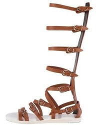 Leather gladiator sandals medium 4468295