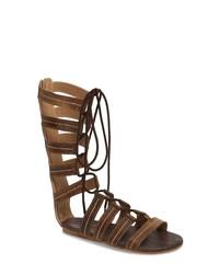 ROAN Rhea Lace Up Gladiator Sandal