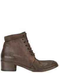 Marsèll Corteccia Lace Up Ankle Boots