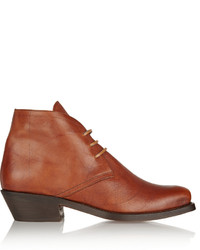 Norway leather ankle boots medium 322375