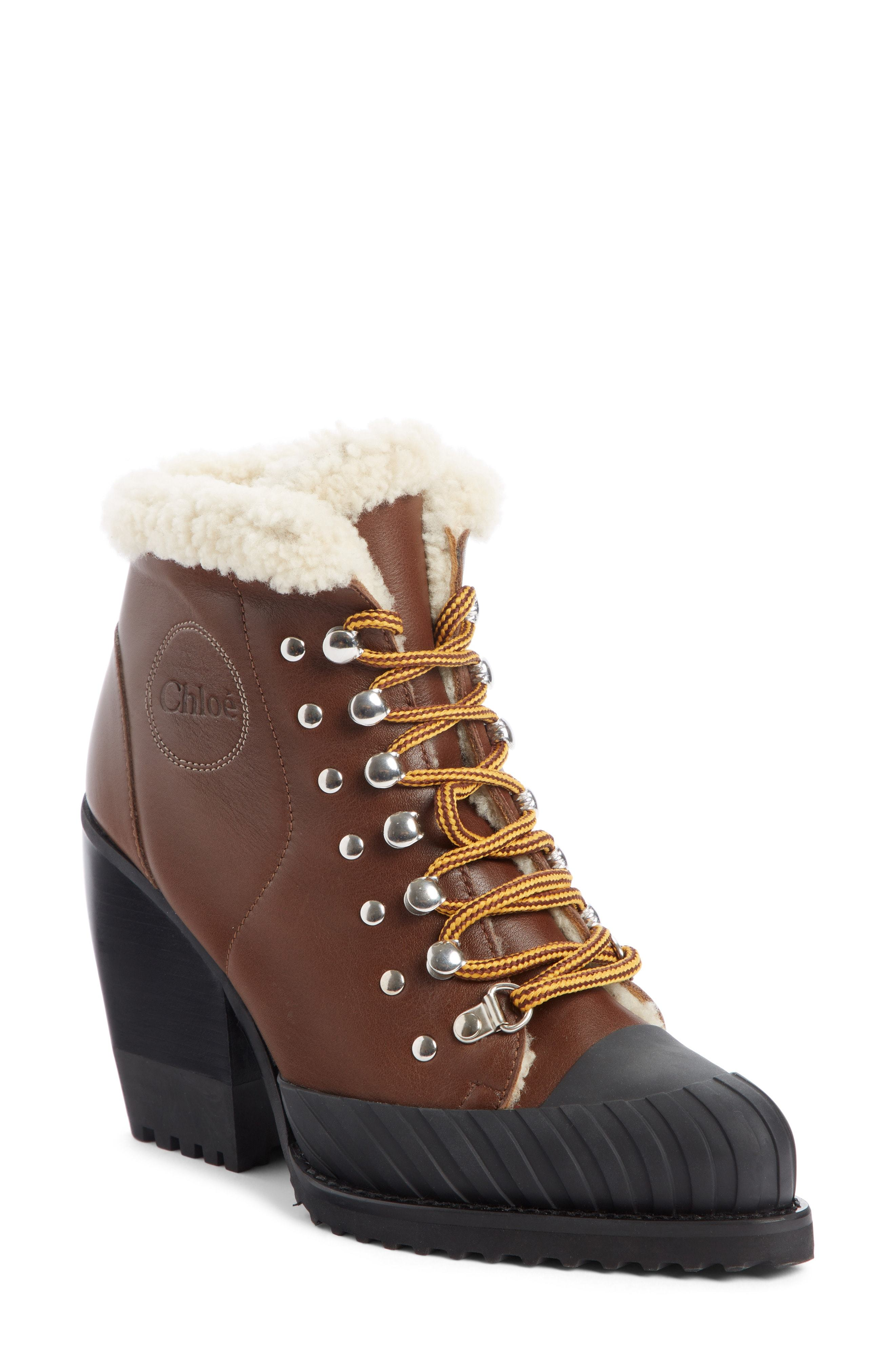 41c26e0dc6d Rylee Genuine Shearling Lined Hiking Boot