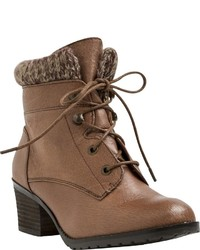 Yellow Box Yellowbox Jami Lace Up Bootie