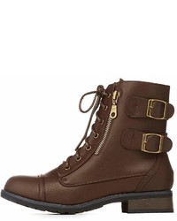 Bamboo two buckle combat boot medium 6993734