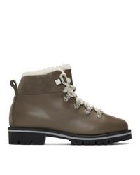 Yves Salomon Brown Merinillo Boots