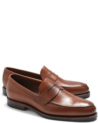 d8176ea0888 Men s Brown Loafers by Brooks Brothers