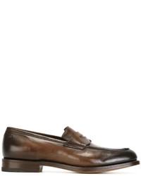Santoni Classic Loafers