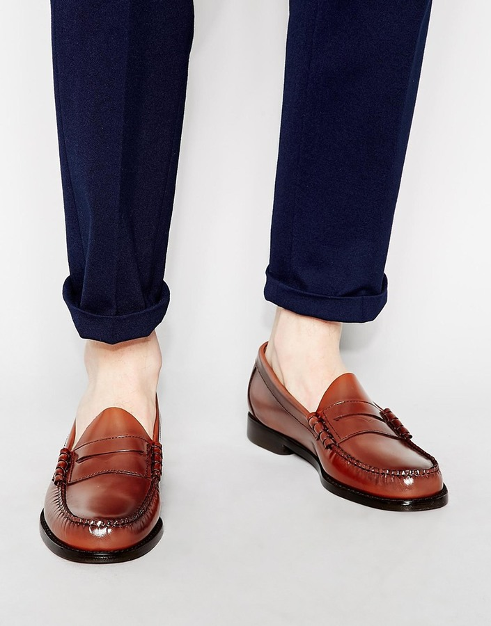 ... G.H. Bass Gh Bass Larson Penny Loafers