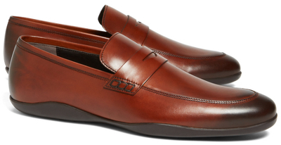 f3cc8b54e87 ... Leather Loafers Brooks Brothers Harrys Of London Downing Dress Penny  Loafers ...