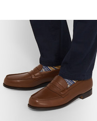 Leather Penny Loafers J.M. Weston qxP3Bmk