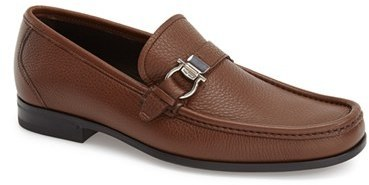 Salvatore FerragamoMuller Bit Leather Loafers