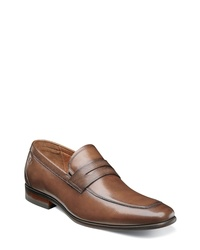 Florsheim Postino Apron Toe Textured Penny Loafer