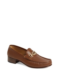 Gucci Roos Tack Bit Loafer