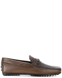 Woven bit leather loafers medium 4423727