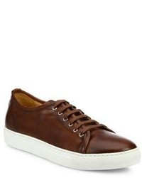 Saks Fifth Avenue Collection Leather Low Top Sneakers