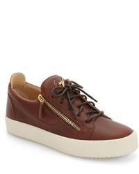 Side zip low top sneaker medium 1125220