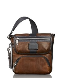 Tumi Alpha Bravo Barton Leather Crossbody Bag