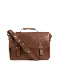 Boconi Becker Leather Messenger Bag