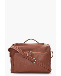 Maison Martin Margiela Brown Leather Messenger