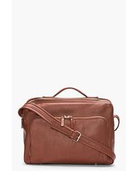 Maison Martin Margiela Brown Leather Messenger